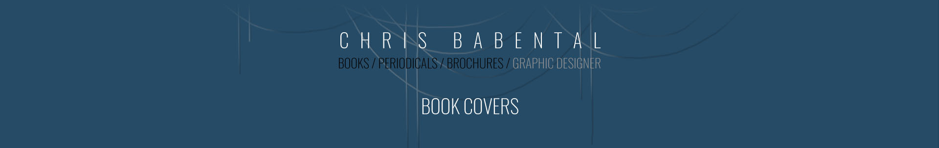 Chris Babental / book covers